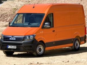 MAN Panel Van